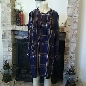 Old Navy Women's Multicolored Plaid Dress